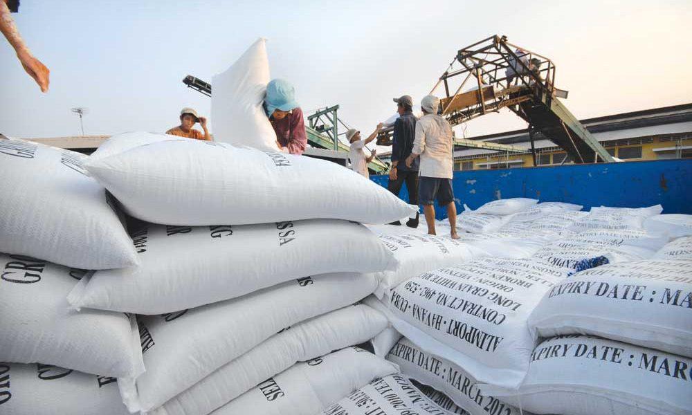 Giá gạo Thái Lan tăng đang tác động mạnh đến thị trường gạo thế giới