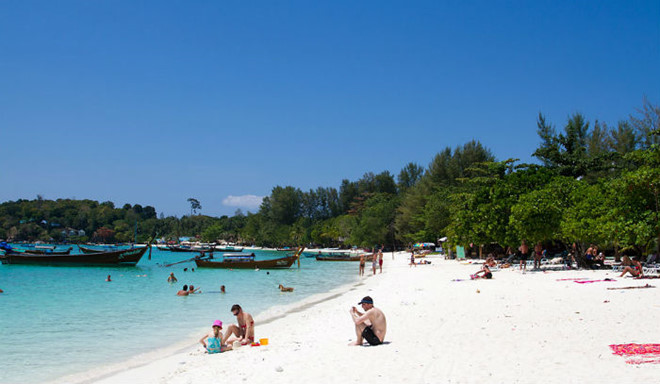 Biển Pattaya là khu vực nằm trong danh sách cấm hút thuốc