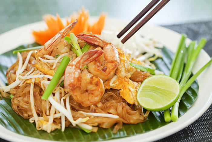 Món Pad Thái nổi tiếng của Thái Lan