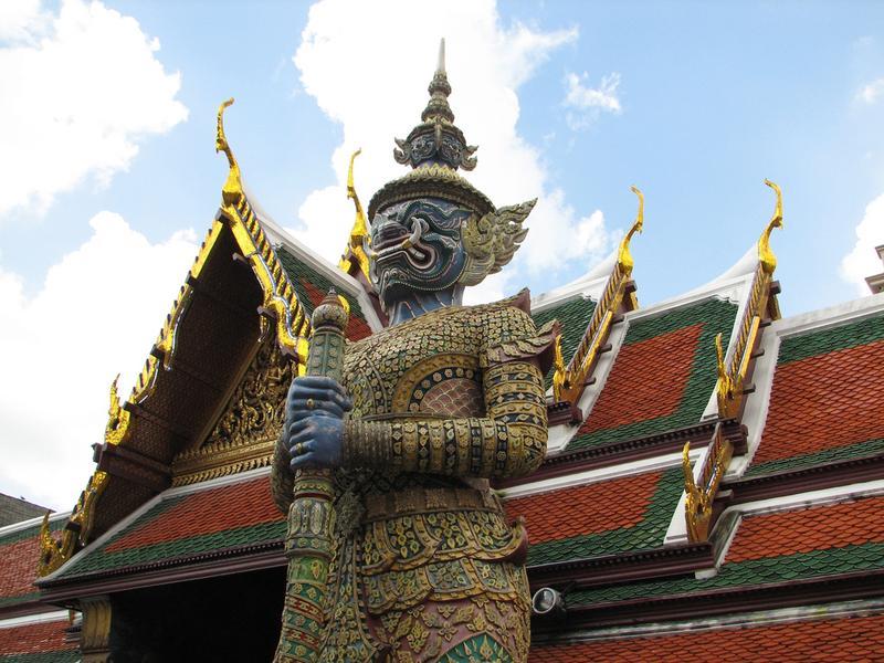 Chùa Wat Phra Kaew Chiang Rai