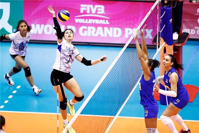 Thái Lan có chiến thắng lịch sử khi vượt qua Brazil sau 3 set trắng.