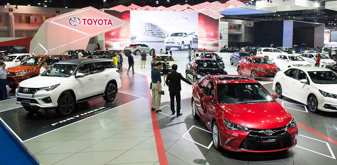 Triển lãm ôtô quốc tế Bangkok 2017