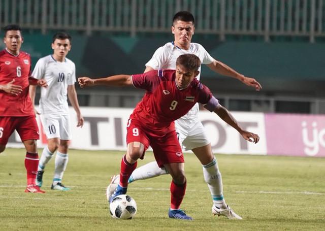 Olympic Thái Lan dừng bước tại vòng bảng ASIAD 18