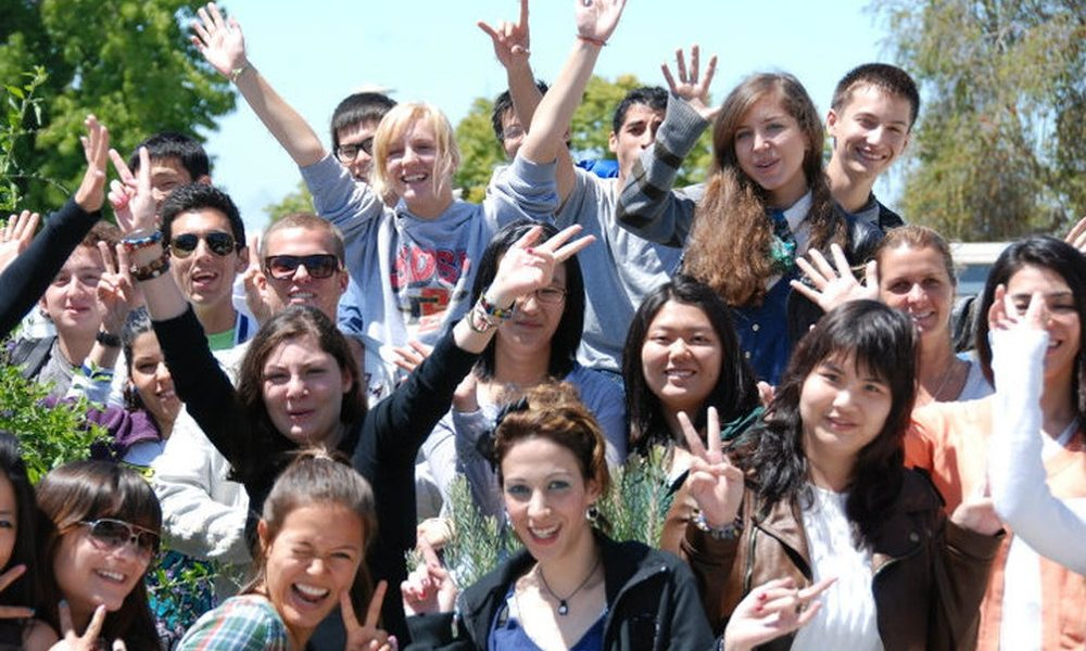 Du học sinh quốc tế tại Mỹ.