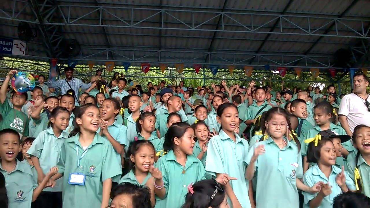 Học sinh tiểu học tại Thái Lan.
