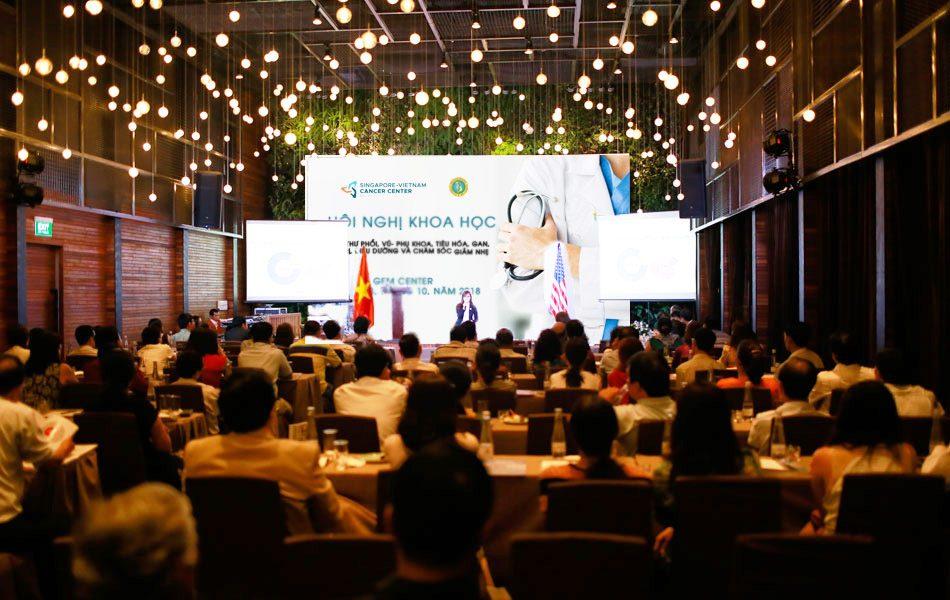 Hội nghị khoa học phòng chống ung thư được tổ chức tại GEM Center, TP. HCM
