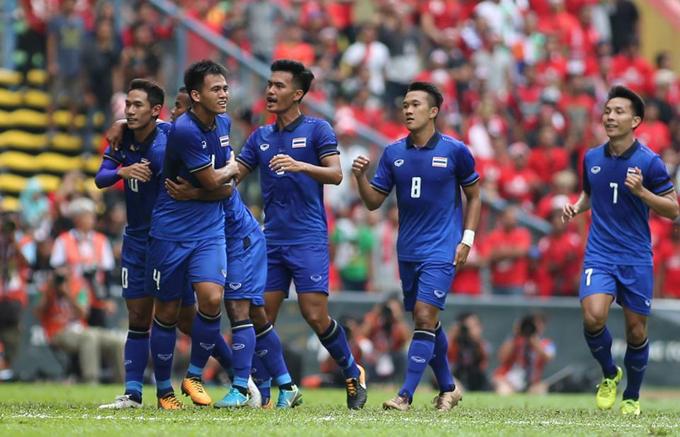 Đội tuyển Thái Lan tham dự AFF Cup 2018