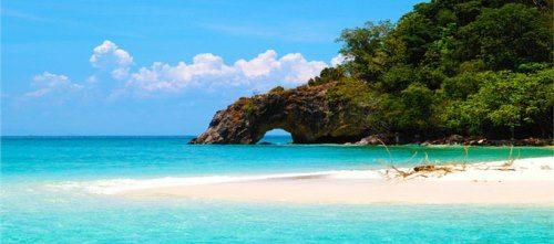 Bãi biển cát trắng Koh Chang