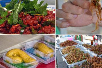 Món ăn kinh dịnh Thái lan