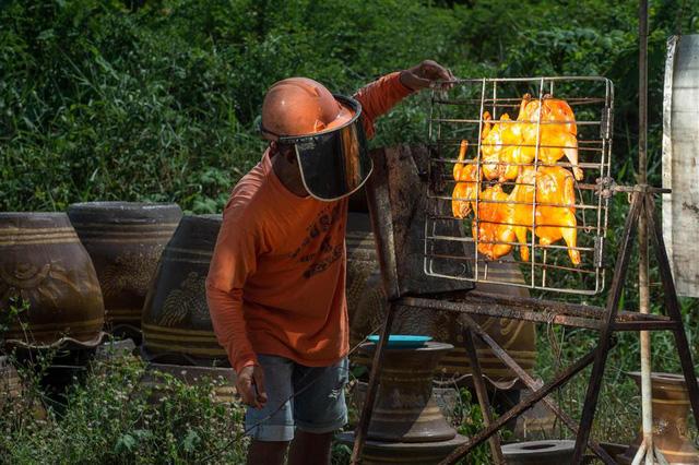 gà nướng mặt trời