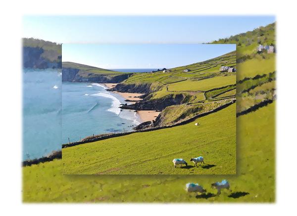 Bán đảo Dingle, thuộc hạt Kerry tại bờ biển phía tây nam Ireland