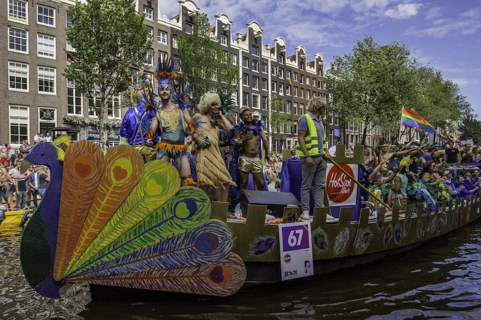 Amsterdam là điểm đến lý tưởng cho các du học sinh đồng tính học tập