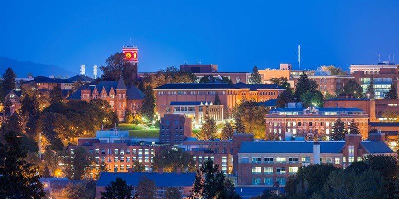 Khu nhà ở tại trường đại học Washington State