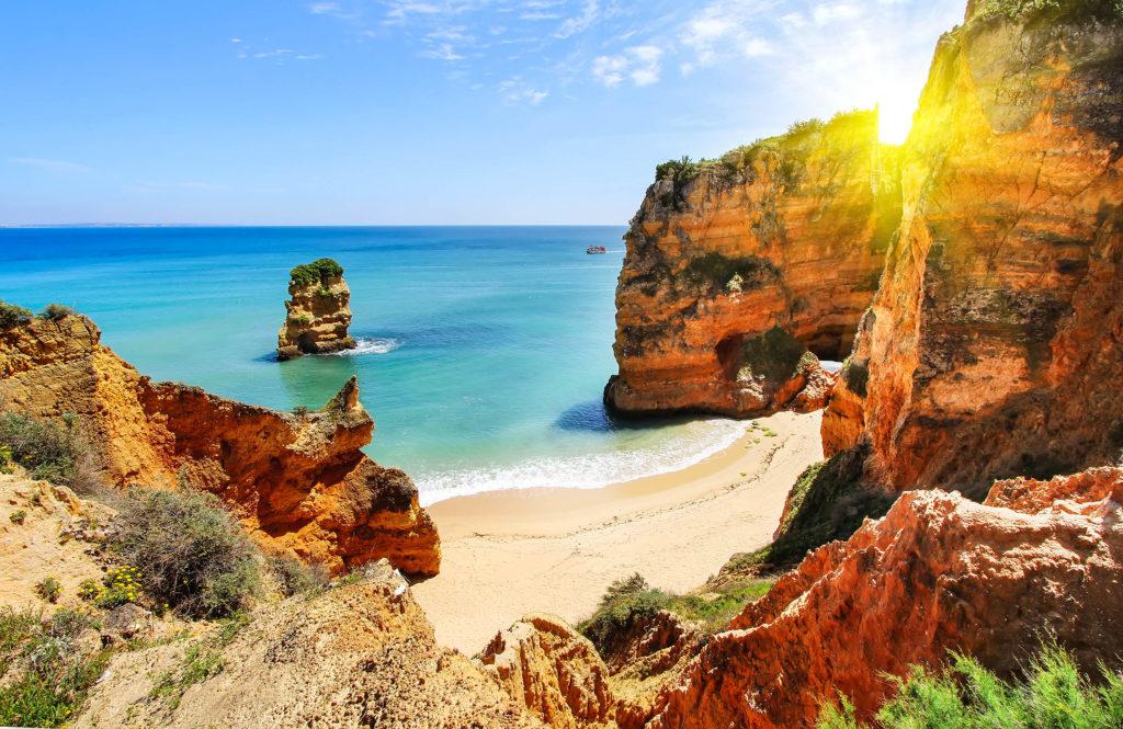 Hoàng hôn trên biển Bồ Đào Nha