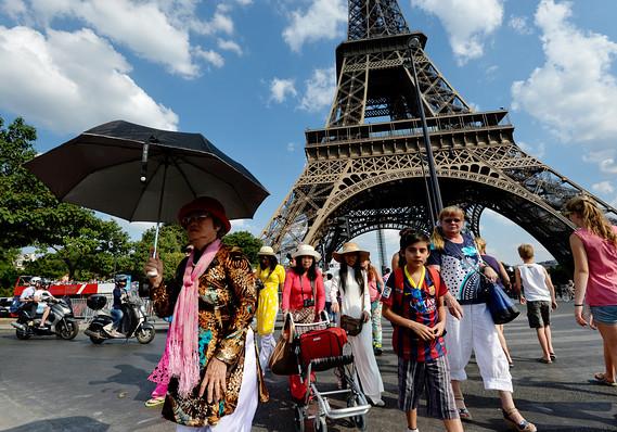 Một công nhân châu Âu được nghỉ phép tám tuần lễ