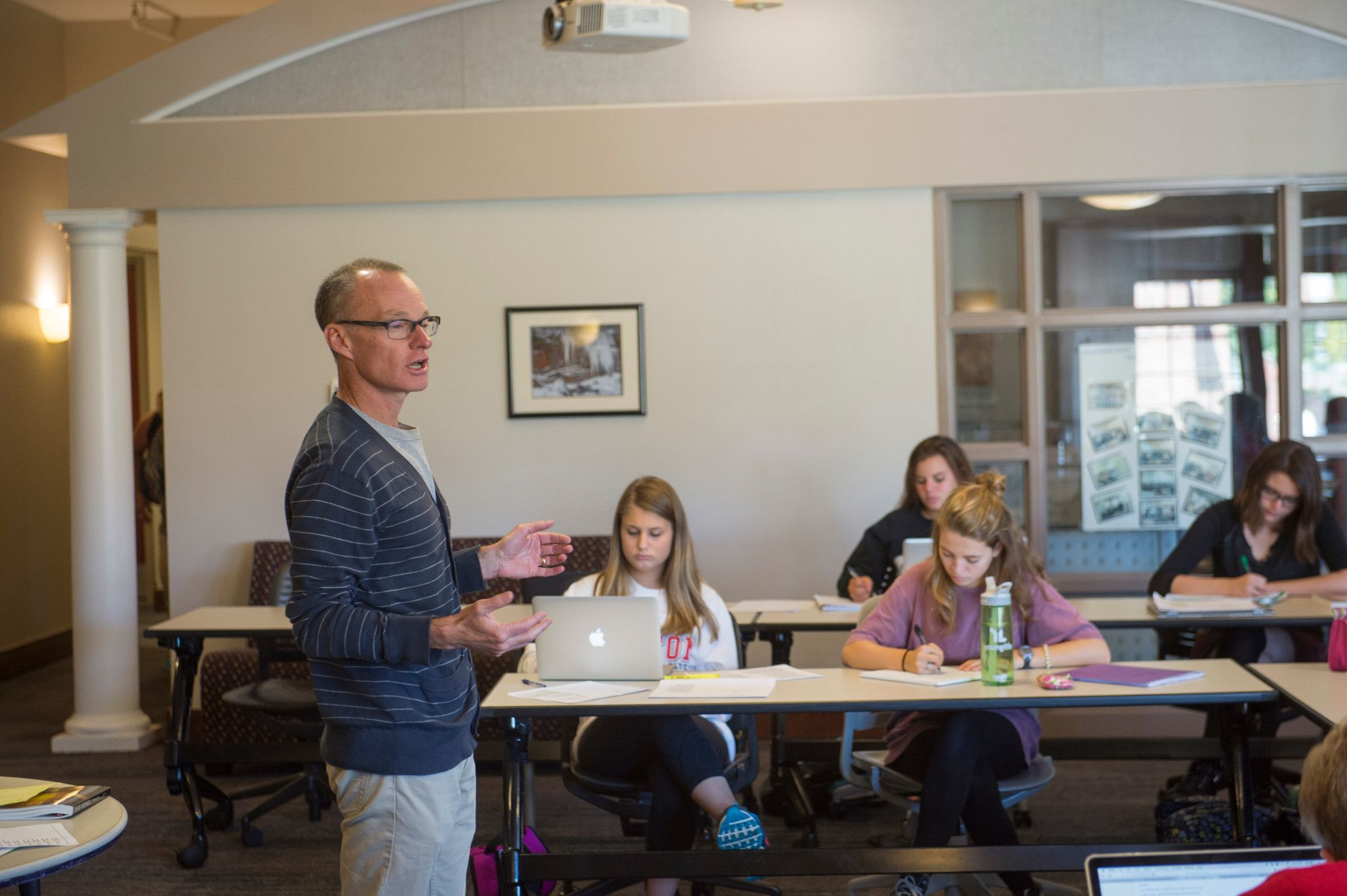 Một lớp học tại đại học Dayton