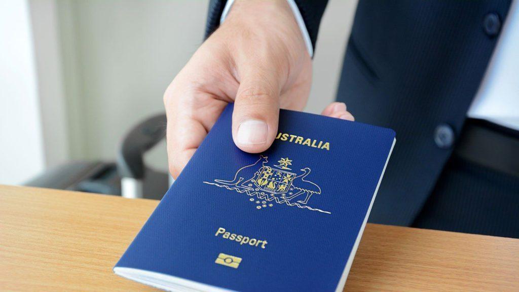 Passport Úc