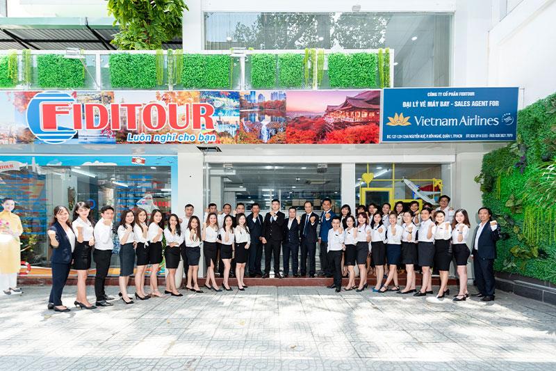 Đội ngũ nhân viên tại Công ty Cổ phần Fiditour