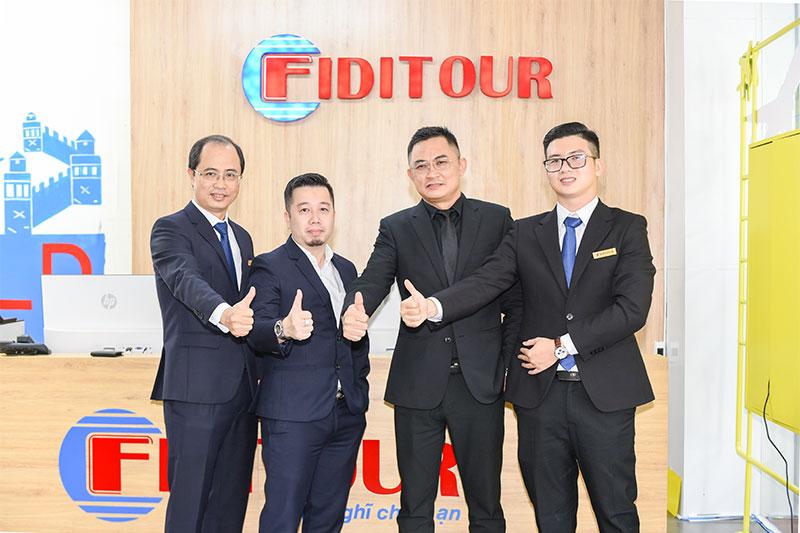 Đội ngũ lãnh đạo Công ty Cổ phần Fiditour