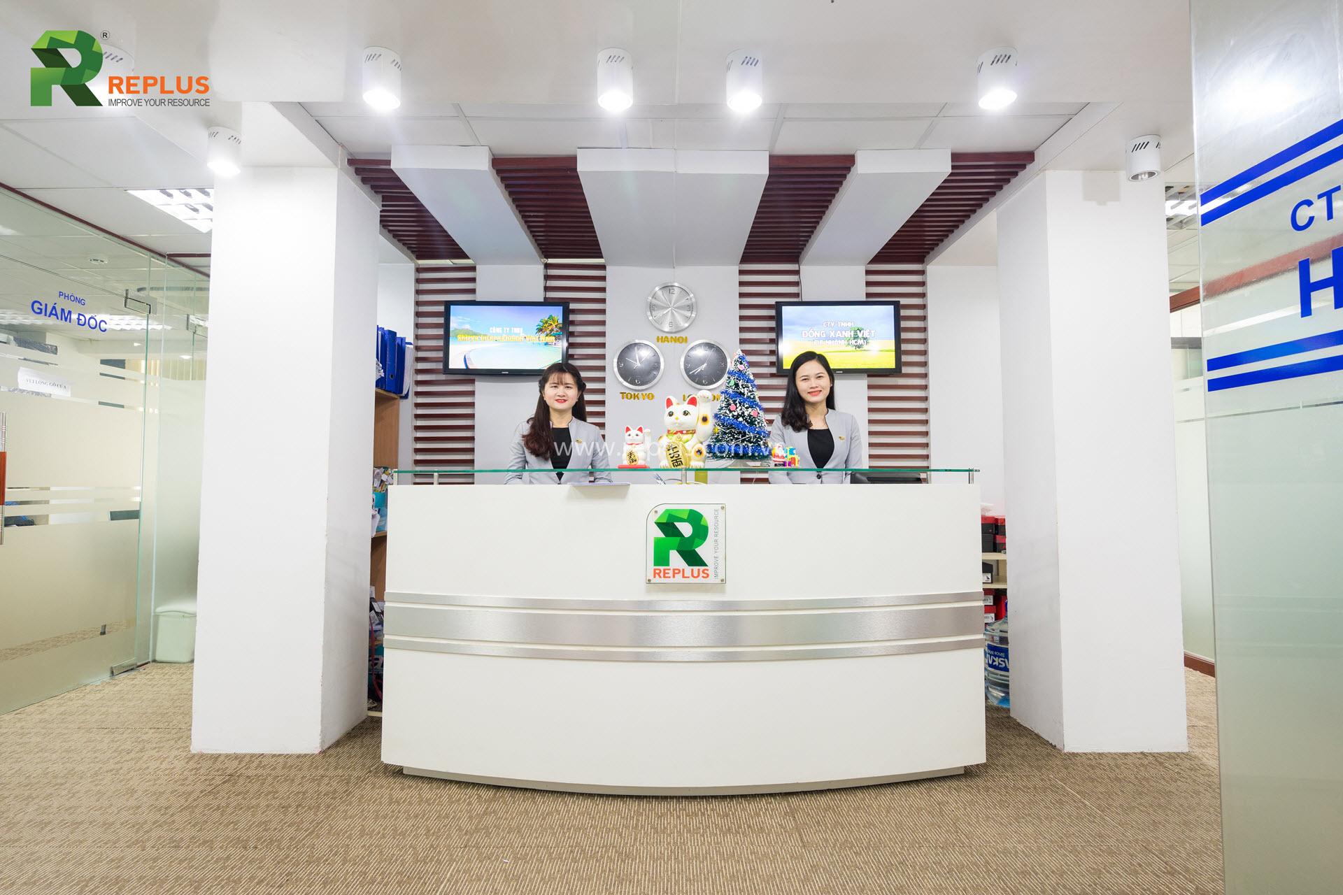 Replus trở thành thương hiệu hàng đầu về dịch vụ văn phòng tại Việt Nam và khu vực ASEAN.eplus