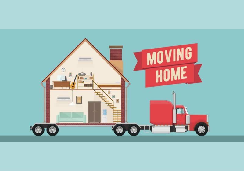 Hình minh họa cho dịch vụ chuyển nhà