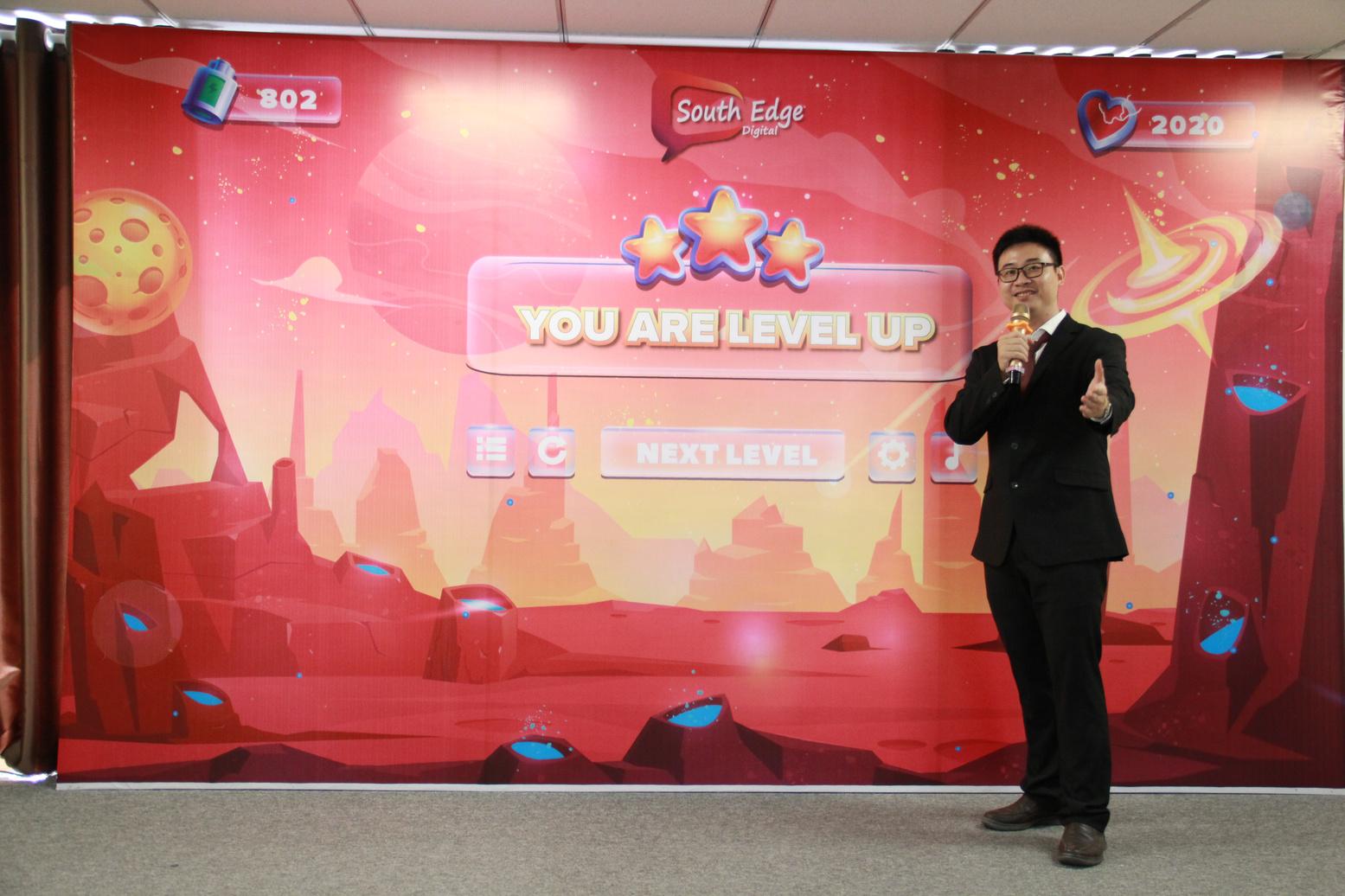 Anh Laevis Nguyễn – Giám đốc của Daisy Webs - một trong những thương hiệu hàng đầu của công ty South Edge, kiêm Chủ tịch Vietnam SEO Association (VSAS)