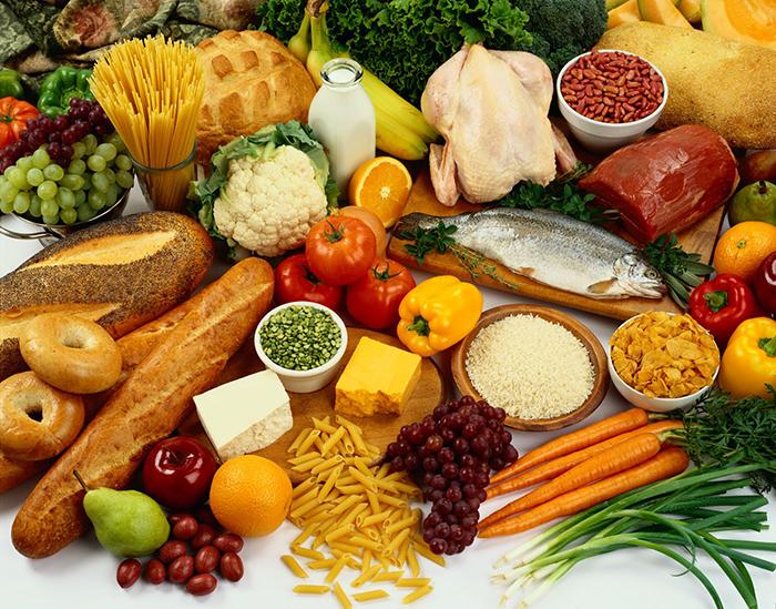 Chế độ dinh dưỡng hợp lý cho cơ thể