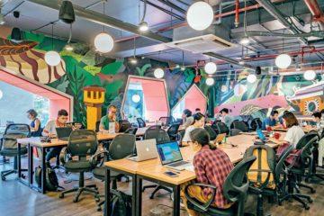 Mô hình coworking space