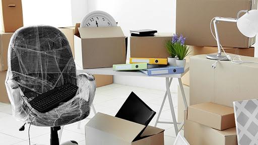 Trang bị vật dụng chuyển văn phòng
