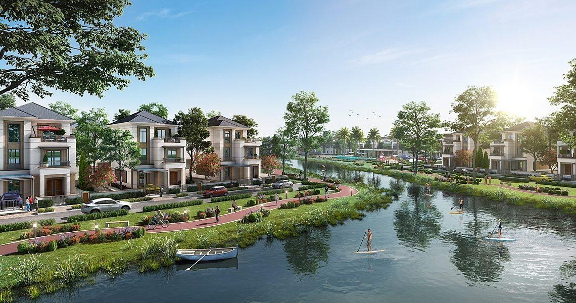Nhà mẫu Aqua City đem lại những trải nghiệm mới cho dân cư sinh sống