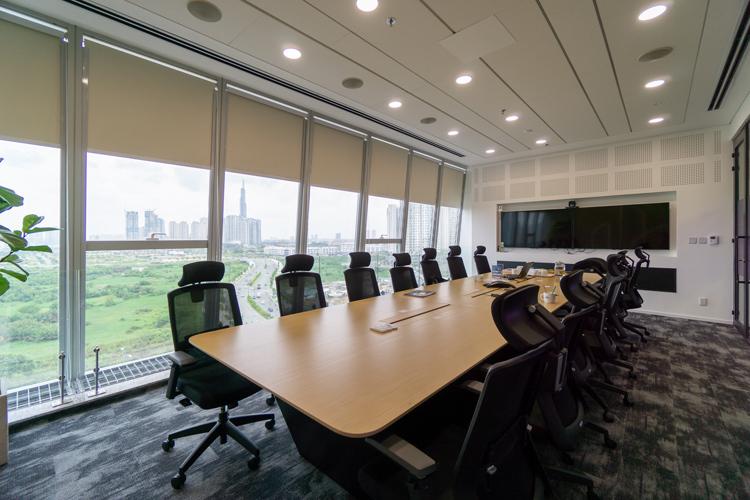 Không gian văn phòng Saint Gobain được thiết kế bởi tấm xi măng DURAflex