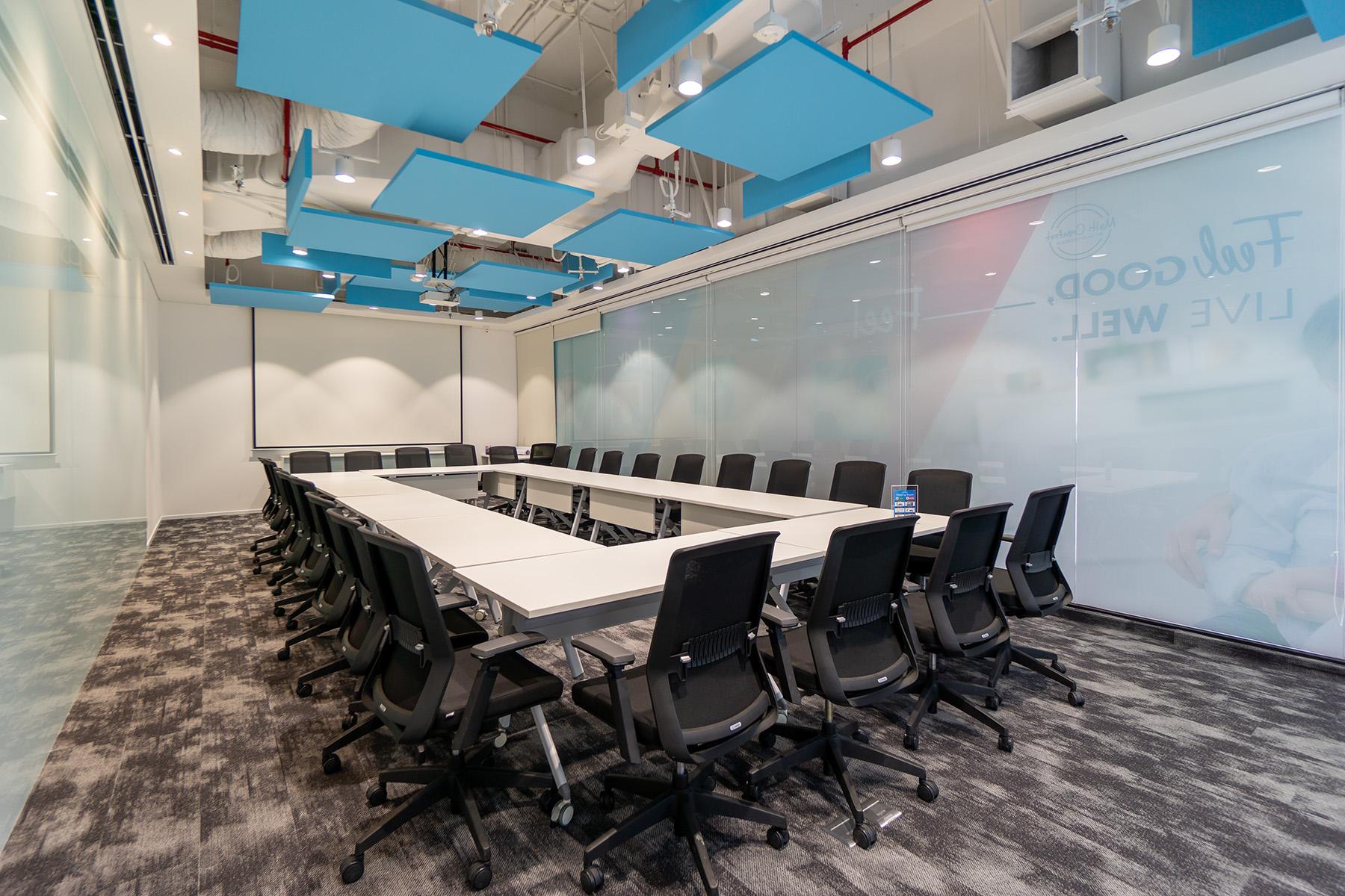 thiết kế văn phòng họp tập trung