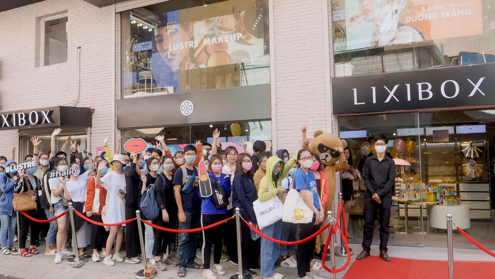 Sự kiện khai trương Lixibox Phan Xích Long
