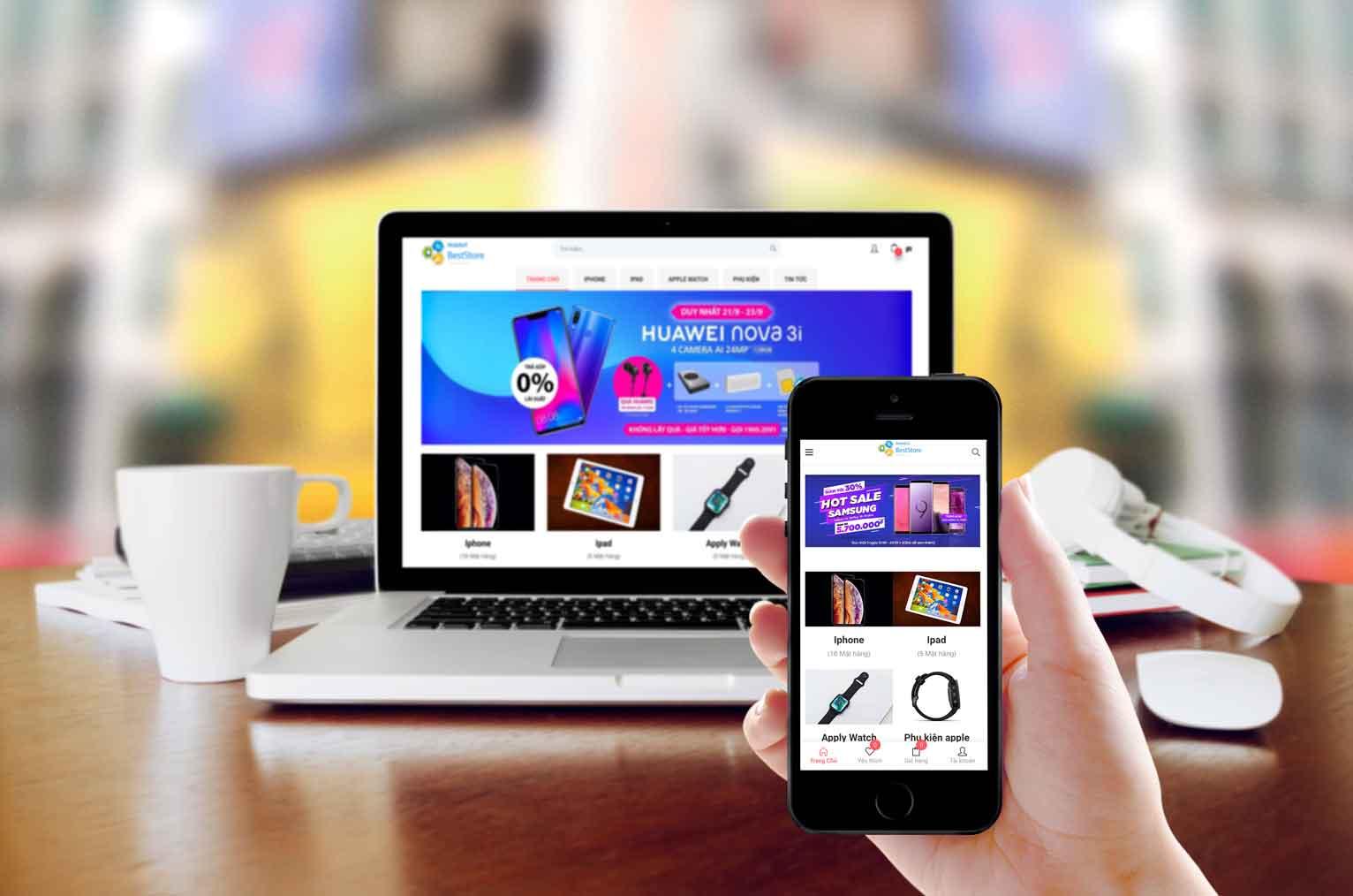 quảng cáo qua website