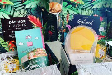 hộp sản phẩm Lixibox