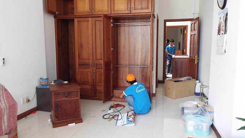 Dịch vụ tháo lắp tủ gỗ